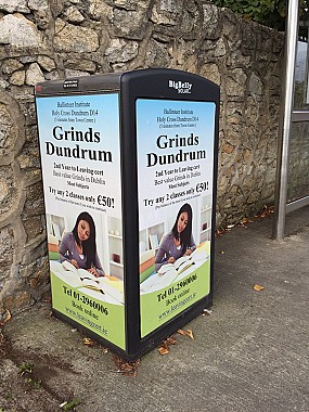iHubbs Smart Advertising Grinds Dundrum